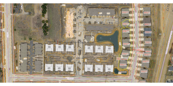 sun pointe village, bear homes community, new phase site map