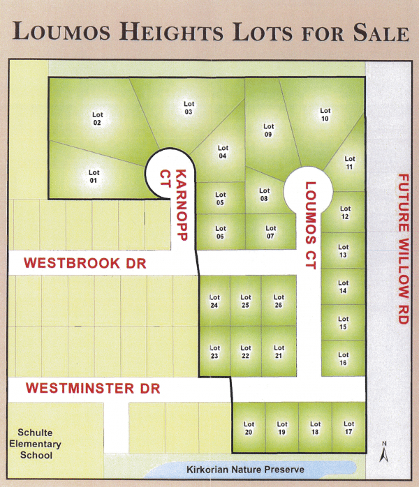 Lots for sale near Racine, luomos heights, racine lots for sale