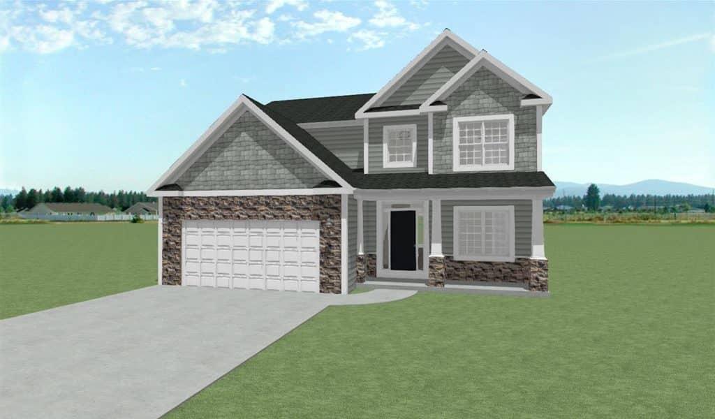 build a house sturtevant, bear homes, build home in sturtevant