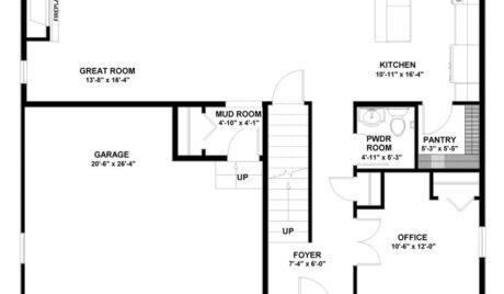 bear homes, wellington floor plan, homes for sale in sturtevant