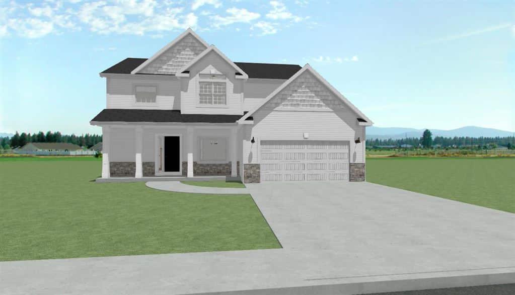 new house, racin, wi