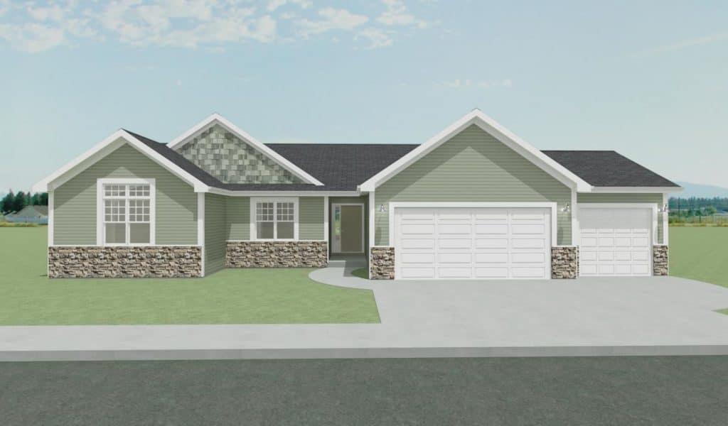 newly built homes, salem wi
