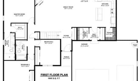 new construction homes, paddock lake wi