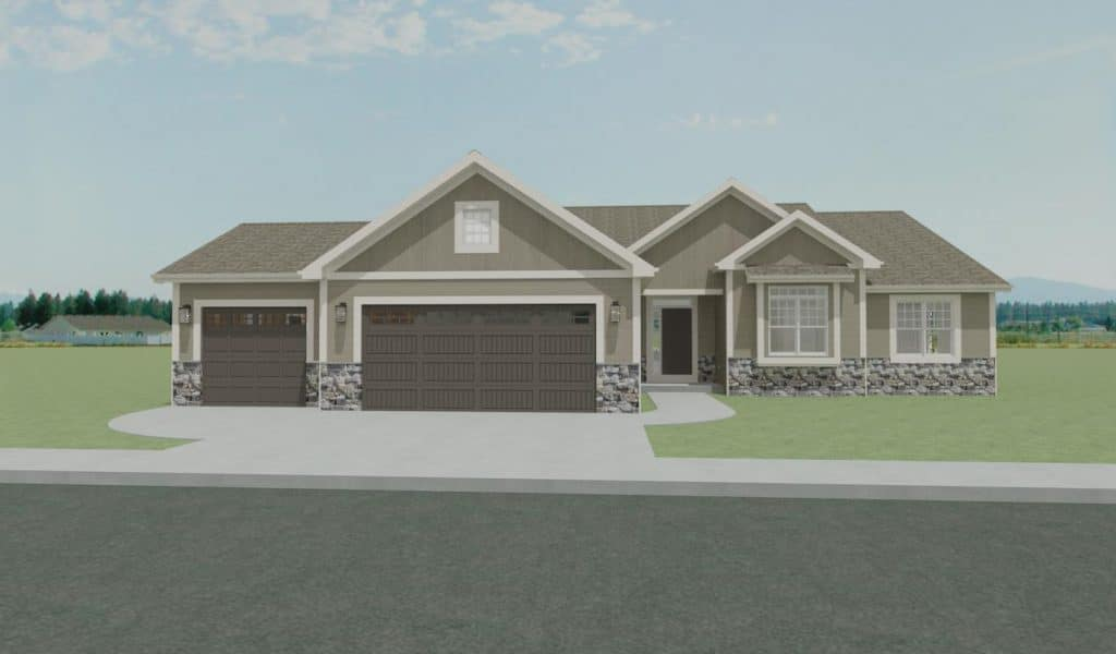 new homes twin lakes wi